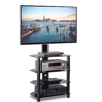 Tavr Furniture Meuble Tvsalon Support Pivotant Hauteur Réglable Tvs