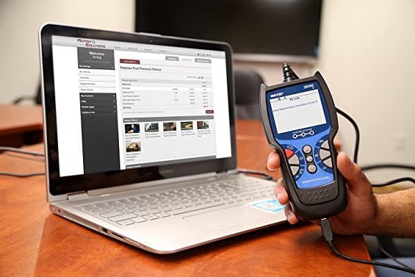 Free updates ensure our Innova 3040e Diagnostic Tool are always up-to-date with the latest technology and information.