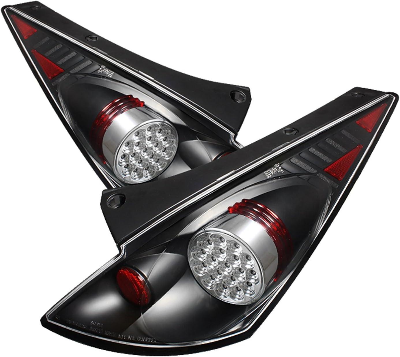 Spyder Auto Nissan 350Z Black LED Tail Light