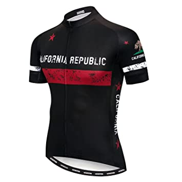 weimo Star Ciclismo Jersey Hombres Mountain Bike Camiseta Full Zip  Bicicleta Camiseta Unidad Extremo Top Road c000423b16398