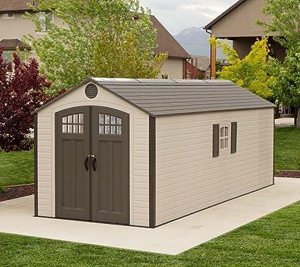 Ordinaire Lifetime Storage Shed 60120 8 Ft X 20 Ft Building Kit