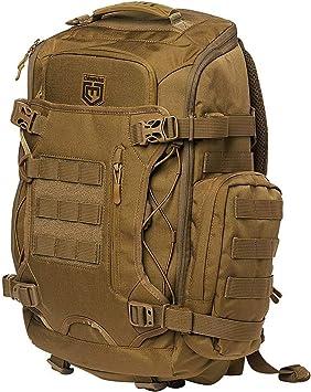 Legion Elite Day Pack w/Helmet Carry, Coyote: Amazon.es: Equipaje