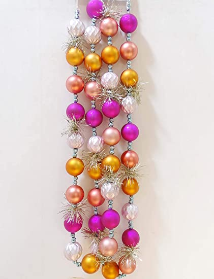 Christmas Ball Garland.Amazon Com Sundecor Spring Wedding Decoration Ornament Ball