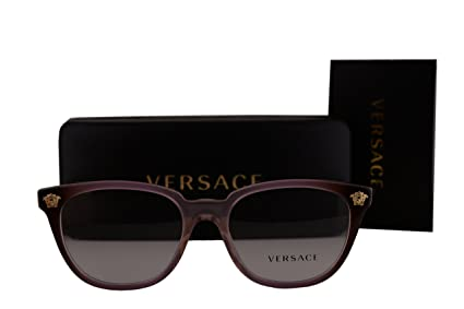 44039e551a Image Unavailable. Image not available for. Color  Versace VE3242 Eyeglasses  52-18-140 Violet Crystal Brown Gradient w Demo Clear