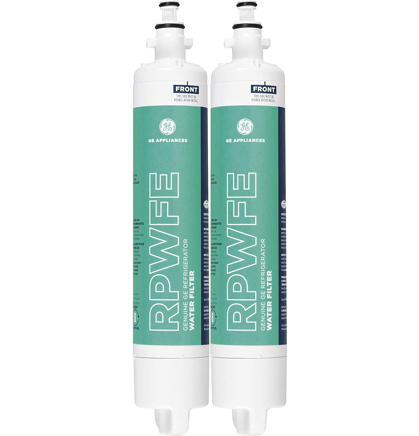 GE RPWFE Refrigerator Water Filter Replaces Model RPWF (2 Pack) General Electric RPWFE2PK