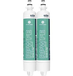 GE RPWFE2PK RPWFE 2 Pack Refrigerator Water Filter