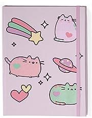 Gund Pusheen The Cat Pastel Notebook Journal, Purple
