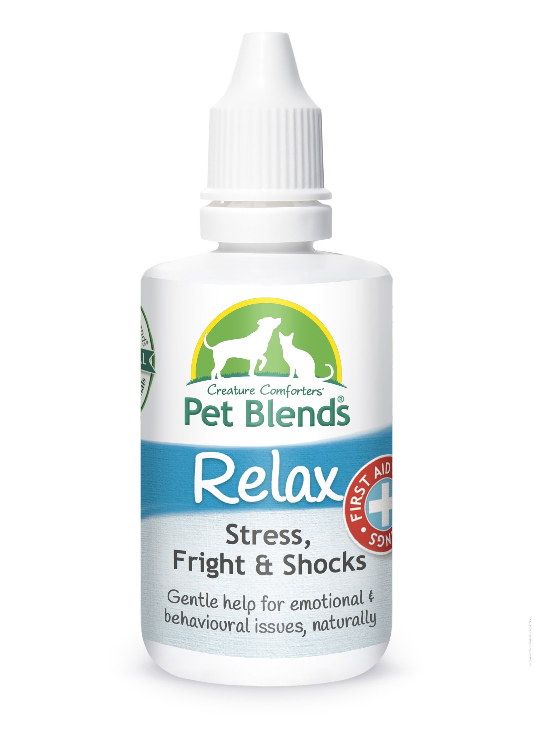 Pet Remedy for Stress, Anxiety, Firework Fear and Trauma. To Naturally Calm Dogs Cats and Horses. The Original Relax Pet Blends Flower Essence 50ml