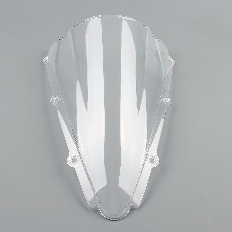 Artudatech Parabrezza Moto Parabrezza Doppia Bolla per Yamaha YZF 1000 R1 2000-2001