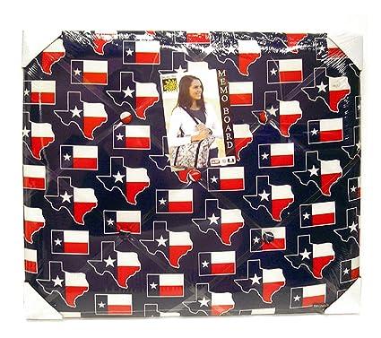 Amazoncom Texas Flag Memo Board Message Ribbon Boards Collage