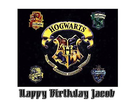 Amazon.com: Harry Potter Hogwarts imagen foto decoración ...