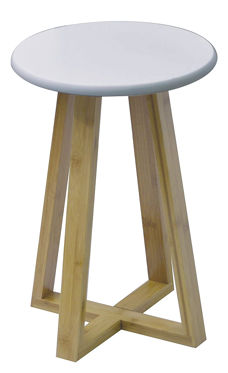 Bamboo bathroom stool - Exotic design TENDANCE