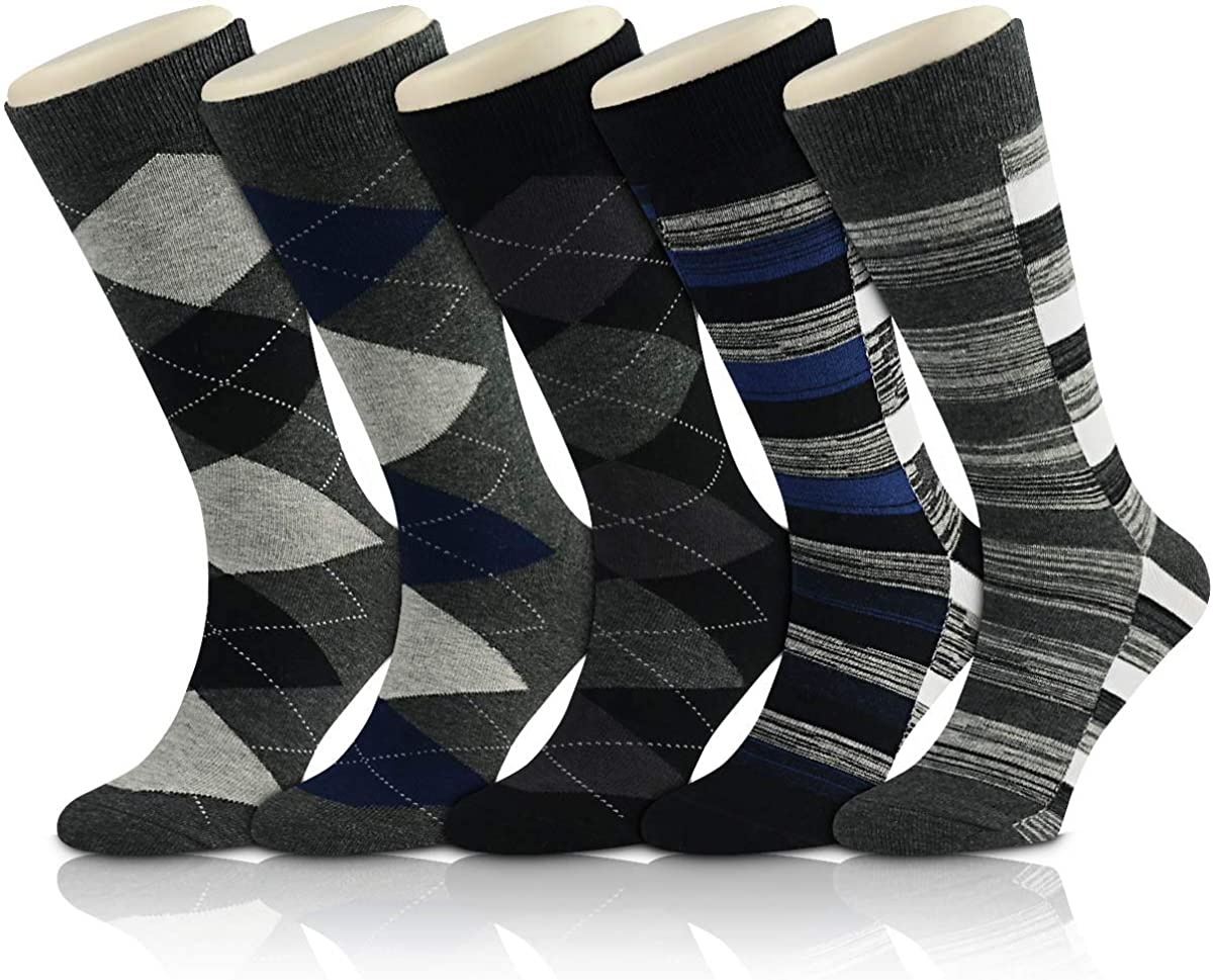 Trendy Cotton Socks Solid Color British style Casual weekly Socks Fits Man