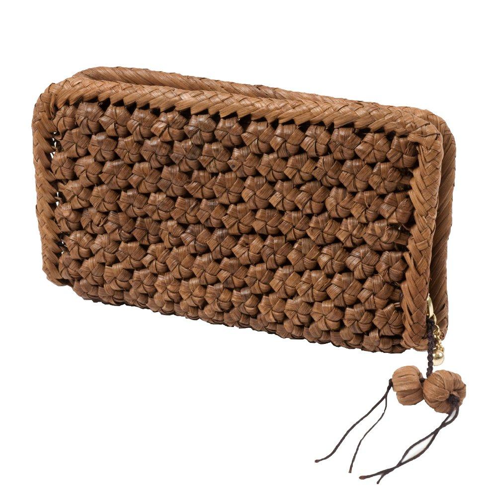 山下工芸(Yamasita craft) 山葡萄コレクション 山葡萄ウォレット 六角花編み 削皮 16116 92363000 B01N1LZ5WD