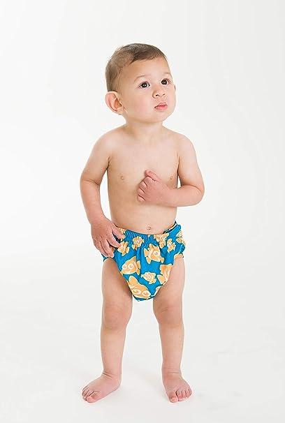 3-30 Months Konfidence AquaNappy Swim Nappy Blue Stripe