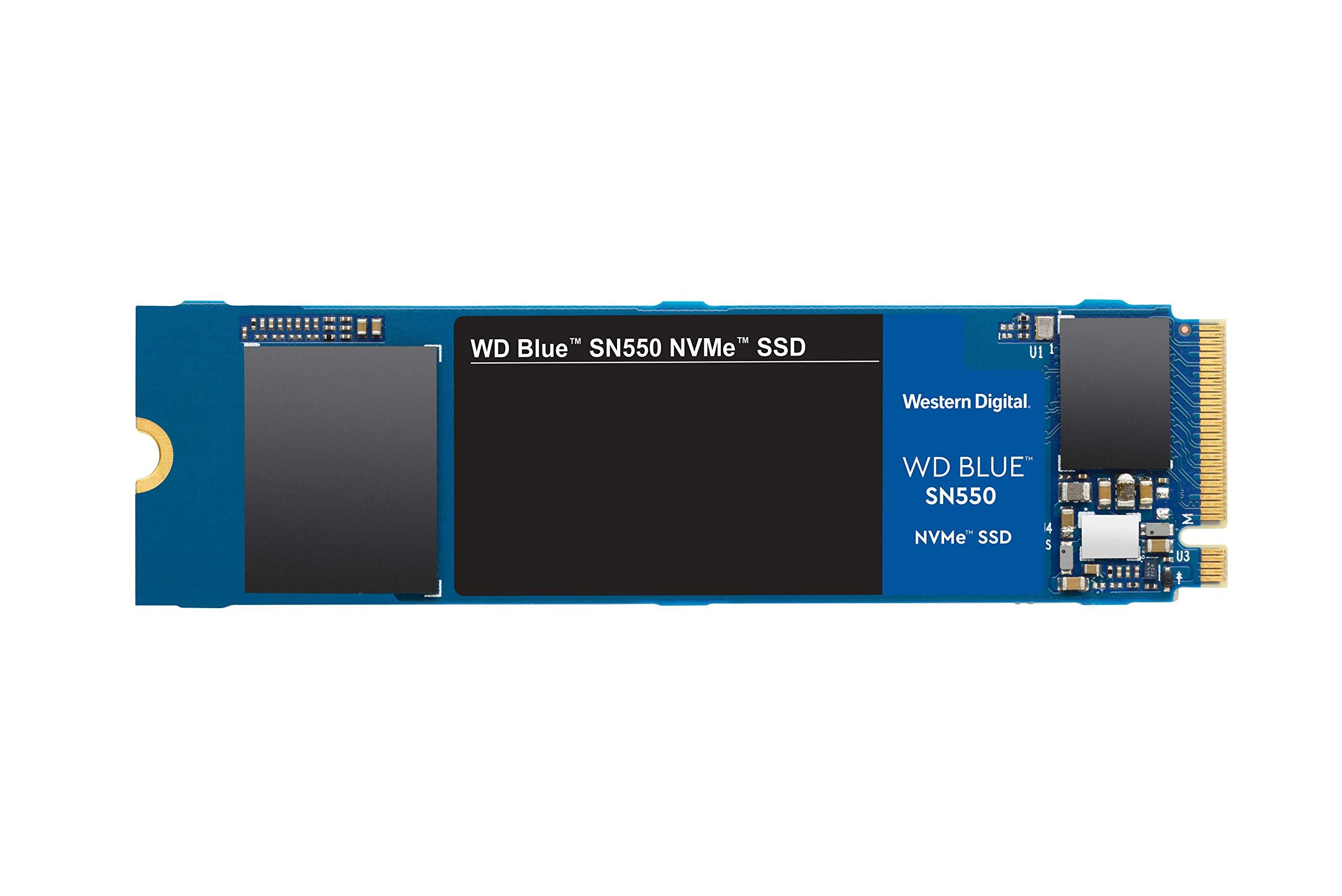 M.2 2280 250gb Nvme Wd Blue Sn550 250gb Nvme Gen3 X4 Pcie 8g