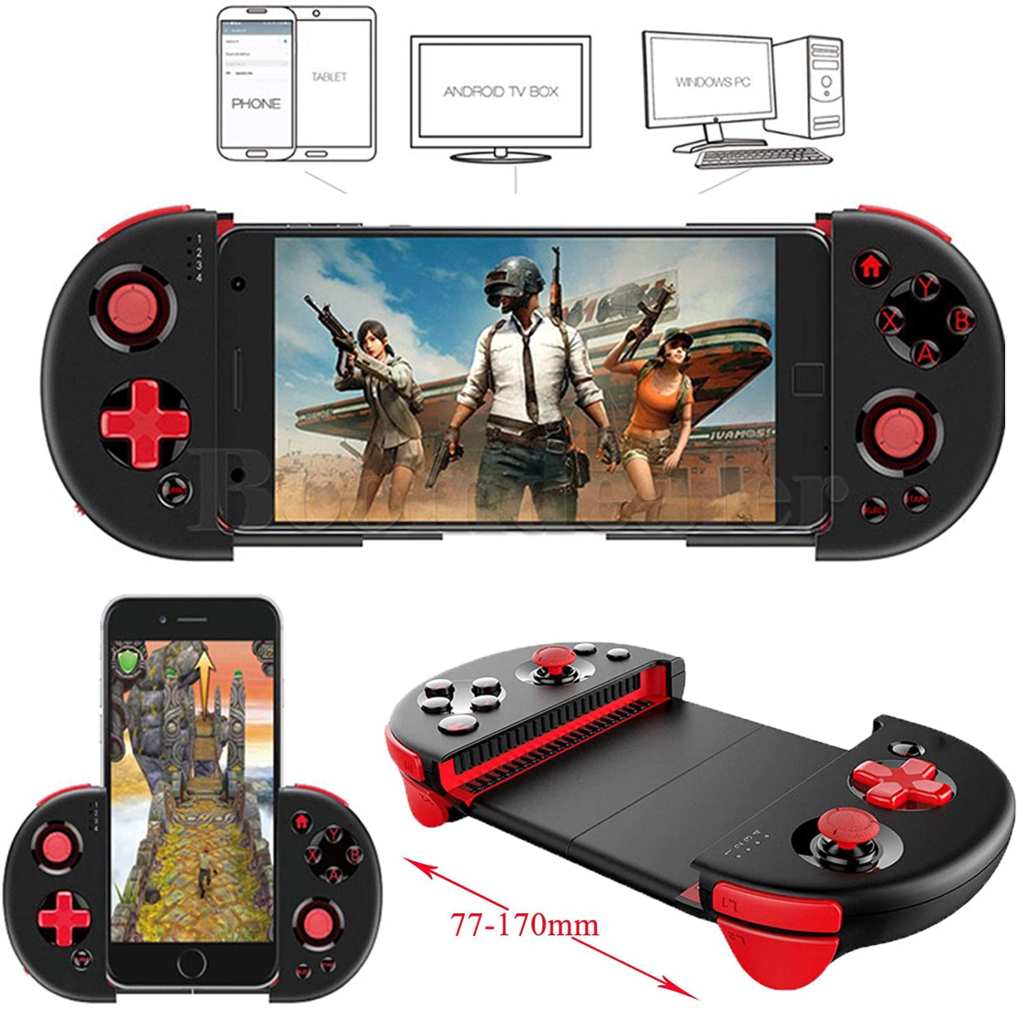Buy Microware Ipega Pg 9087 Bluetooth Gamepad For Android Ios Stick Mobile Controller 9021 Smart Phone Extendable Game Tablet Pc Tv Box Online At Low