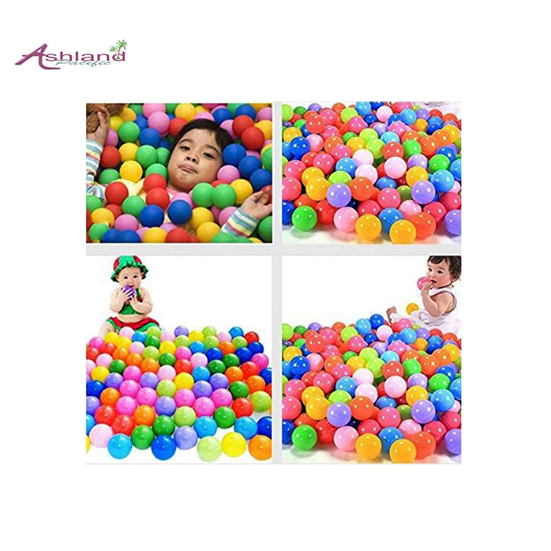 高級素材使用ブランド Ashland 子供のおもちゃ 水遊び 水泳 150個 遊び場 ソフト 遊び場 水泳 カラフル プラスチックボール 150個 B07P1S65PY, 哲多町:122af3e8 --- svecha37.ru