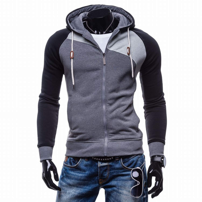 Amazon.com: NanGate 2018 Hoodies Men Sudaderas Hombre Hip Hop Mens Brand Leisure Zipper Jacket Hoodie Sweatshirt Slim Fit Men Hoody XXL,SH,XL,China: ...