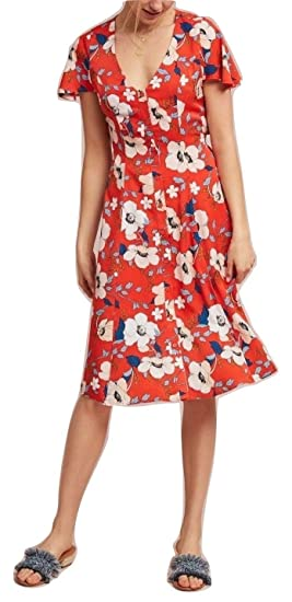 fe338ccabd9 Anthropologie Regents Floral Midi Dress by London Rose Sz L - NWT at ...