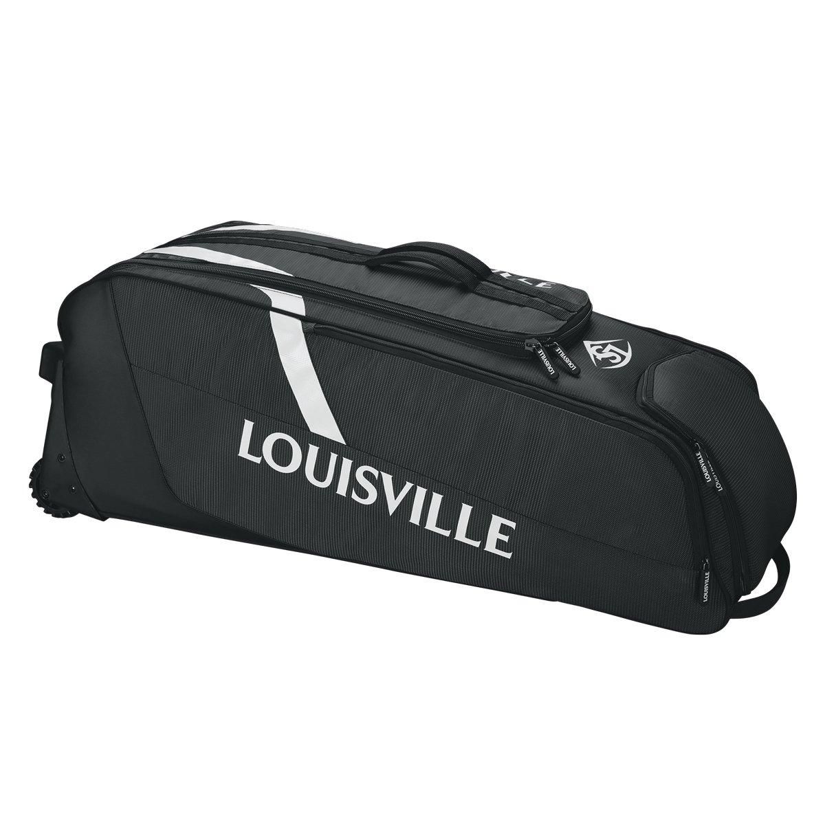 Louisville Slugger(ルイスビルスラッガー) 野球用 キャリーバック SELECT RIG WHEELED BAG WTL9701 B0741JFMKMブラック