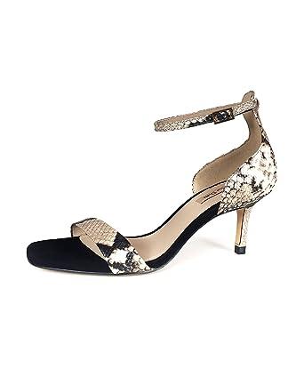 75099701dc43 Massimo Dutti Women Animal print high heel sandals 1320/321 (35 EU | 5 US |  2 UK): Amazon.co.uk: Clothing