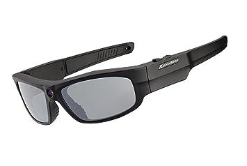 PIVOTHEAD - Gafas de sol con cámara matte black