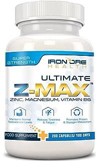 Z-MAX | 200 grageas de zinc, magnesio y vitamina B6 | Mantiene el