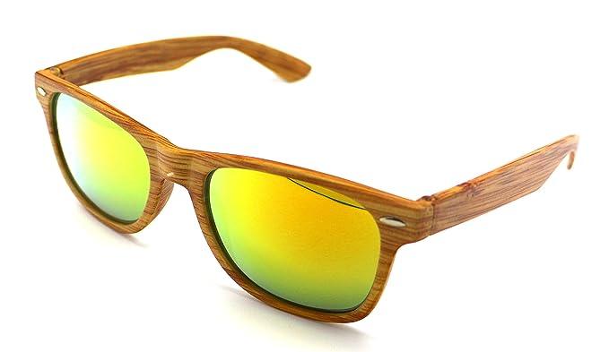 34bbc0c6d5 Gafas de Sol Sun Vision de Pasta Madera Alta Calidad UV 400 S5599r NEW:  Amazon.es: Ropa y accesorios