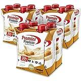Premier Protein 30g Protein Shake (Pack of 12 x 11 fl oz), Caramel, 160 calories, 1g Sugar, Low Fat, 24 Vitamins & Minerals, 5g Carbs