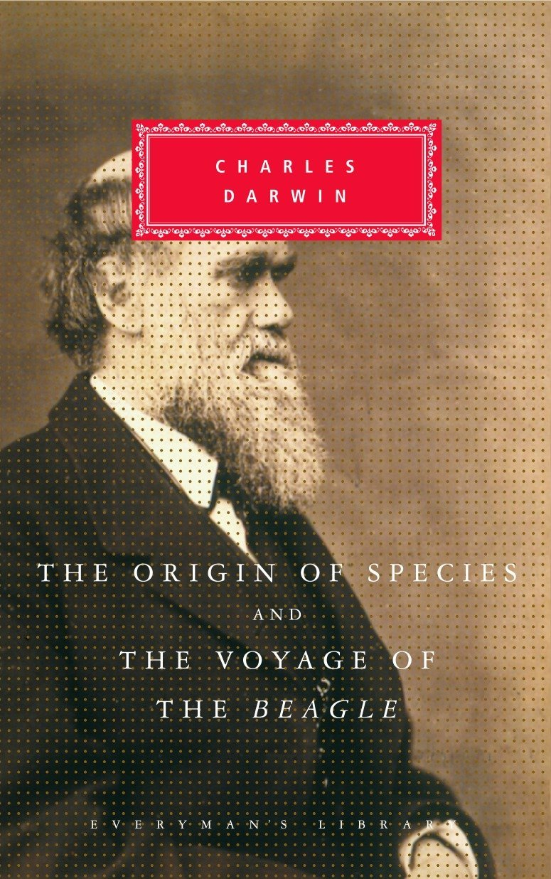 The Origin of Species and the Voyage of the Beagle by Everyman s Library