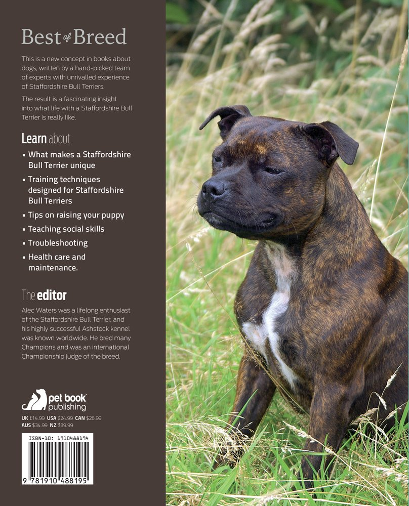 The Staffordshire Bull Terrier: Your Essential Guide From Puppy To Senior  Dog (Best of Breed): Alec Waters: 9781910488195: Amazon.com: Books