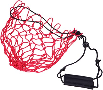 VORCOOL - Bolsa de Red portátil para balones de fútbol, Color Rojo ...