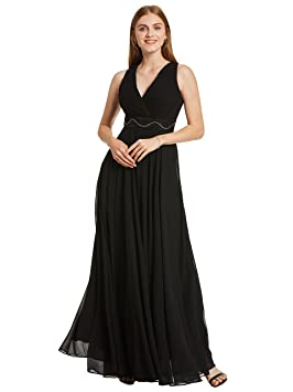 Selighting Vestido Elegante de Boda Fiesta Cóctel para Mujer Dama de Honor Vestido Largo (40