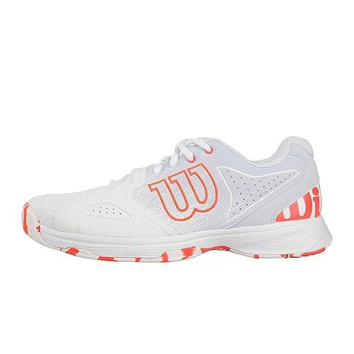 buy popular 8f1ac 82dd3 Wilson KAOS DEVO W, Women s Tennis Shoes, White (White Halogen Blue
