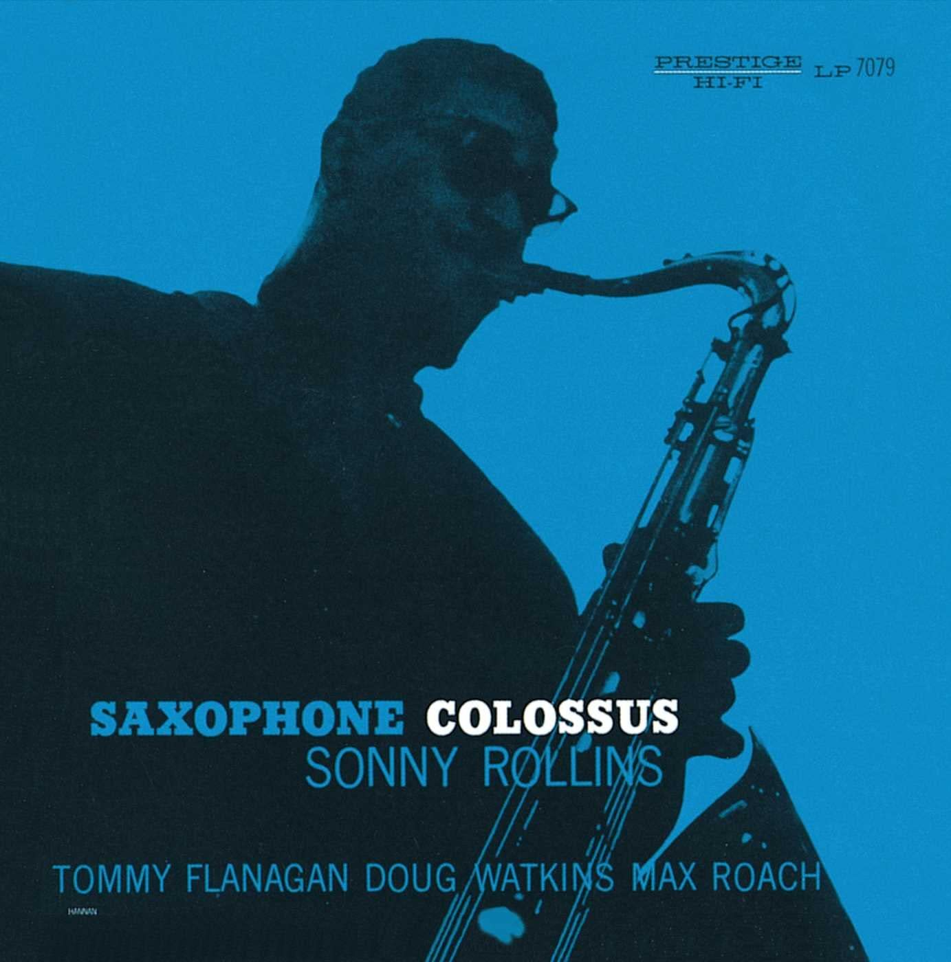 Amazon | SAXOPHONE COLOSSUS | Sonny Rollins, Max Roach, Doug Watkins, Tommy Flanagan | モダンジャズ | 音楽