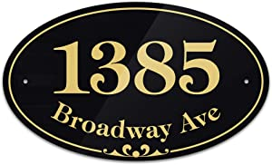 Customized and Personalized Home Address Sign, 7
