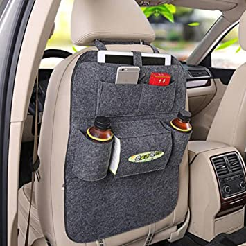 sweetyrose car seat bag organizerwoolen felt seat back protectors for kidsstorage bottles