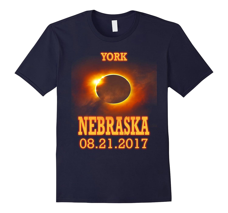 York Nebraska NE Total Solar Eclipse August 21 2017 T Shirt-Art