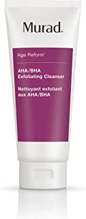 product image for Murad Age Reform AHA/BHA Exfoliating Cleanser - (6.75 fl oz), An Intensive Face Cleanser with a Trio of Exfoliating Acids and Jojoba Skin-Polishing Beads to Reveal a Younger-Looking Complexion