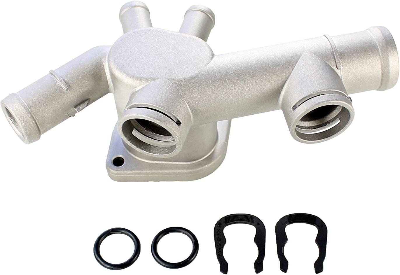 1998-2005 VW Volkswagen Beetle 2.0 Coolant Flange WITH Clip /& O-Ring GENUINE OEM