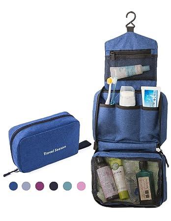 c61b79116ba0 Feeker Travel Hanging Toiletry Bag, Makeup Bag Waterproof Portable Dopp  Kit, Makeup Cosmetic Organizer...