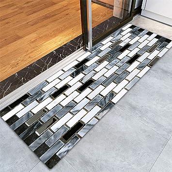 Amazon Clearance Tuscom Fake Tile Bricks Matfor Bedroom