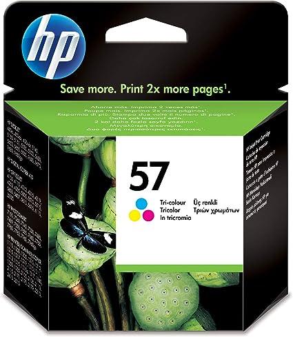 Oferta amazon: HP 57 C6657AE, Tricolor, Cartucho de Tinta Original, compatible con impresoras de inyección de tinta HP Deskjet 5550, Photosmart 7350, 7150, 7345, Officejet 6110, 5110