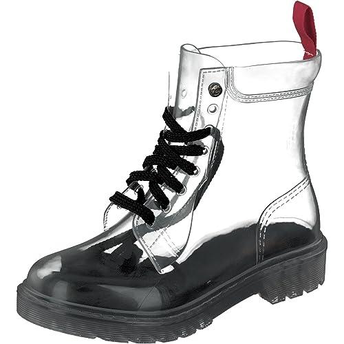 Preciosas botas de caucho con muy buenos acabados.