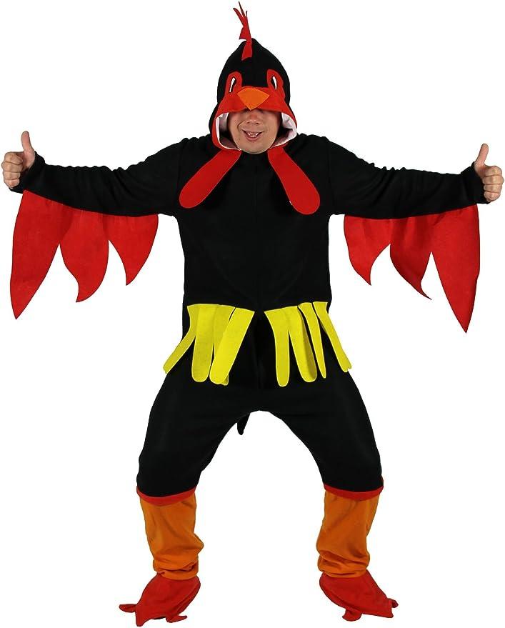 Disfraz de Pollo Negro para Adultos en, Talla M a XXXL - Polla de ...