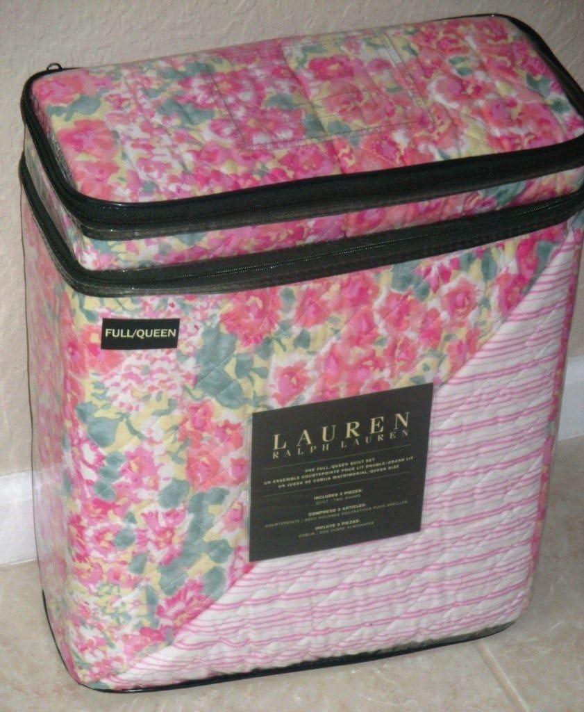 Lauren Ralph Lauren Cottage Floral FULL / QUEEN Quilt Set