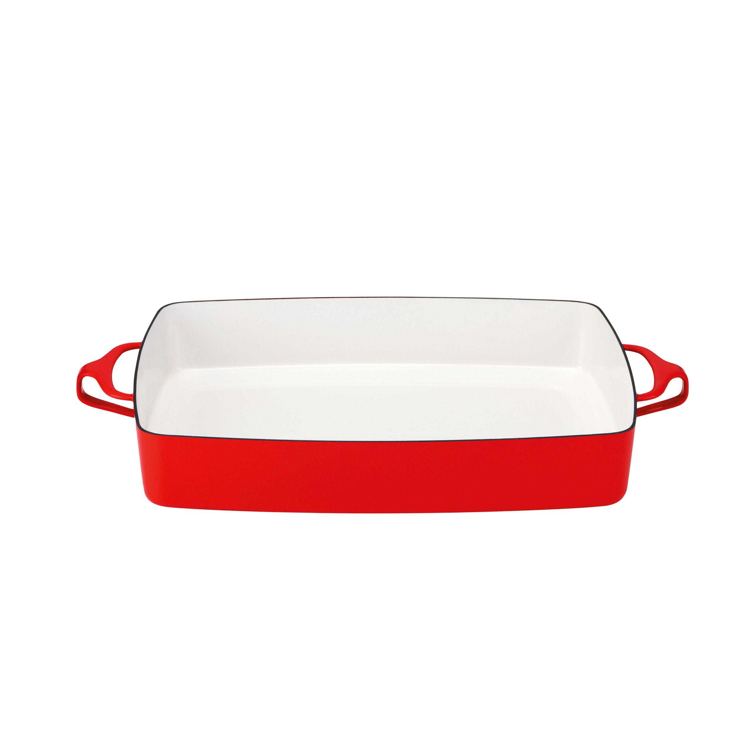 Dansk 834297 Kobenstyle Rectangular Baker, Chili Red