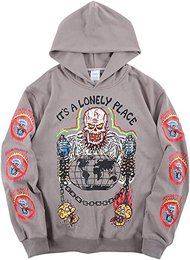 NAGRI Kanye Its Lonely Place Sweats /à Capuche Hoodies