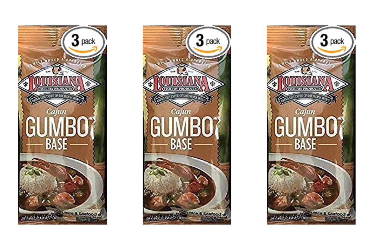 Cajun Gumbo Base - 5 oz (Pack Of 3) (3 Pack)